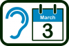 World Hearing Day icon
