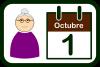 Icono del Día Internacional de las Personas de Edad