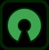 Logotipo de software de código abierto