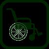 Wheelchairs icon