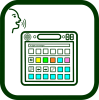Touchscreen communicator icon