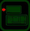 Icono de teclado pequeño