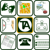 Icons used in TecnoAccesible