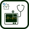 Medical equipment icon