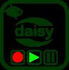 Icono de grabación y reproducción daisy