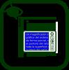 Icono de lupa electrónica portátil