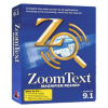 Imagen de la caja del programa ZoomText